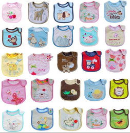 Wholesale Cotton Baby Bibs layers waterproof carter bib Feeding Cartoon infant disposable baby bib
