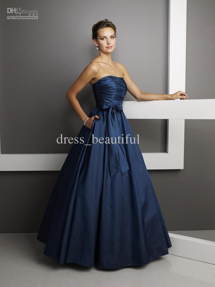 Navy Blue Wedding Dresses Navy Blue Bridesmaid Dresses