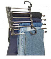 Wholesale Ultra practical Observing Stainless Steel Tube Trousers Rack Drying Hanger