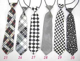 Wholesale e Baby boy Ties Child Kids Necktie School Tie