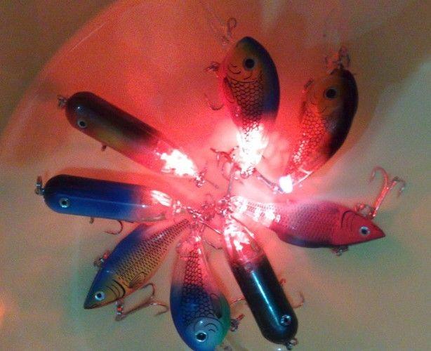 the latest led fishing lure baits,3 kinds of led lure baitshard, Hard Baits