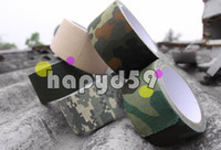 Wholesale free ship army insulated waterproof tape camo camouflage fabric tape for hunting air rilfes airsoft M