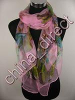 Silk butterfly scarf silk - 100 silk butterfly design scarf Wrap scarf Scarves Scarf Neckscarf scarf Wrap