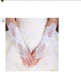 Hot sell bridal gloves lace wedding bridal gloves White Ivory Lace No finger Wedding Gloves Bridal Gloves