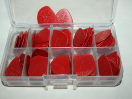 wholesale piece red Jazz III Guitar Picks no case free shipping