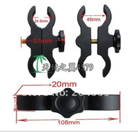Wholesale BIKE TORCH FLASHLIGHT MOUNT BARREL CLAMP High Quality Plastic scope mounts