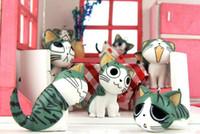 Wholesale Fashion Cartoon Sweet Cats KeyChain Cellphone Handbag Pendant MP3 MP4 MobilePhone Straps Camera