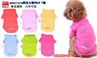 Wholesale New petcircle Pet Dog Clothes Apparel Cotton T Shirt Size XS S M L