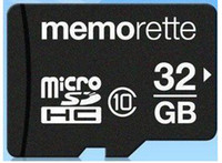 Wholesale Memorette GB Micro SD SDHC TF Trans Flash Class Memory Card Adapter TF