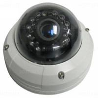 Wholesale mm Fixed Iris Manual Vari focus Lens Vandalproof IR Dome Camera