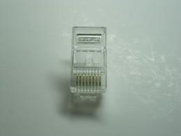 1000 Pcs Per Lot RJ45 Modular Plug Network Connector CAT5 LAN 8P8C HOT Sale HIGH Quality