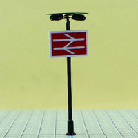 Wholesale mdoel lamp T86 lamppost for train layout HO scale Height Approx cm or quot inch Reference scale
