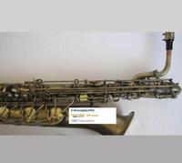 Haut Saxophone baryton Eb Bari Sax Basse a ~ Haute Clé F # NOUVEAU