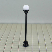 ho scale - T4 HO scale train layout model lamppost lamp Size MAX height cm or quot inch Current for each b
