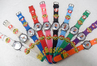 Wholesale Watches Star Super Mario D Children watch cartoons Quartz send Extra batteries