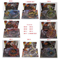 Wholesale 8 Styles Clash Metal D Beyblades Beyblade BB105 BB106 BB108 BB109 BB111 BB114 BB117