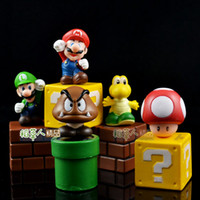 Wholesale New High Quality PVC Super Mario Bros Action Figures New Children kid gift toy