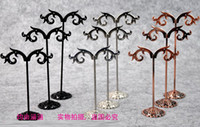 Wholesale jewelry earring display mix size set earrings display holder stand tree jewellry display
