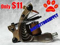 1 Piece tattoo guns - Professional tattoo machine copper contact tattoo gun