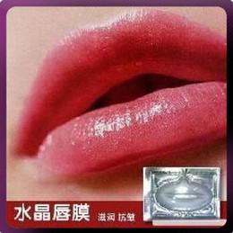 Wholesale Free Ship Pieces Gold Wine White Collagen Crystal Lip Mask Membrane Care Moisture Essence