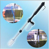 Wholesale New arrival Aquarium Battery Syphon Auto Fish Tank Vacuum Gravel Water Filter Cleaner Washer Hotsale
