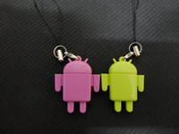 Wholesale New Mini Lover Android Robot Doll USB Micro SD Card Reader TF Memory Card Reader