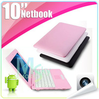 Wholesale VIA Netbook Android M GB HD USB Notebook PC New Version
