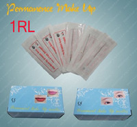 Wholesale 100 Box R Permanent Makeup Eyebrow Needles Sterilized For Pen Machine Round Size Cosmetic CN