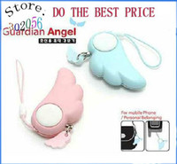 Wholesale Dropship Angel wing Anti rape device personal alarm anti lost alarm New exotic PA002