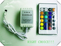 Wholesale LED strip light to control IR Remote controller strip light lighting for RGB
