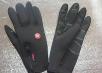 Wholesale WINDSTOPPER ski gloves outdoor gloves riding gloves cold and warm wind and water