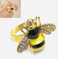 bees wings - Finger Rings Jewelry Band Ring Bees Rings Popular Men s Women s Lady s Animal Wing Rings Ornament