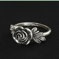 Band Rings antique rose china - Finger Rings Jewelry Antique Rose Band Rings Hot Popular Women s Lady s Ring Ornament