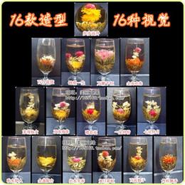 Wholesale styles kinds Blooming tea Art viewing Blossom Flower ProcessTea