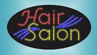 LED HAIR SALON sign Number HSH0003 LED signs LED sign board ...