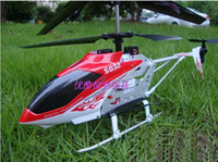 Plastic aluminium helicopter - SYMA S032 S032G CH Electric RC Helicopter with GYRO Aluminium Fuselage Stable Flight Red Blue Color