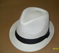 Wholesale straw hat fedora hat fashion hat hats caps men s hats ladies hats summer hats