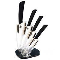 Wholesale good quality ceramic knife set hot sale quot quot quot quot and block ceramic knives sets drop shipping