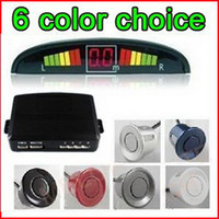 Wholesale TOP SALE LED Parking Sensor system car Reverse Backup from z egomall