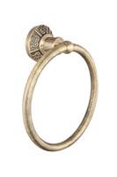 Wholesale Bathroom fashion Hook bronze Round Towel Ring antique brass NY13606