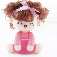Wholesale 20 New arrive car furnishing articles Shake head doll mechanical spring doll car decorat