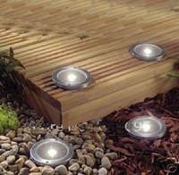 Wholesale Solar Powered Underground Buried Lamps Solar Deck Light