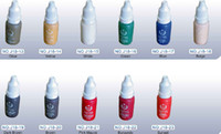 Wholesale BioTouch Micro Pigment Colors Permanent Makeup Ink Cosmetic ml Bottle Kits Supply Best