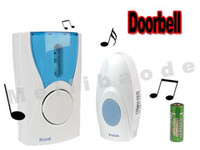 Cheap MT02 100M 32 musics Wireless Doorbell Remote Control 500pcs lot