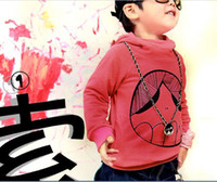 Boy Spring / Autumn 100% Cotton ISSOKIDS Children hoodies watermelon red fleeces sweater overcoat baby clothing L2023