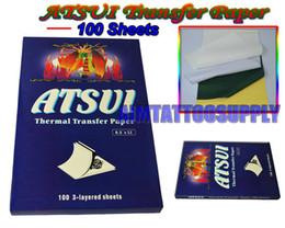 Wholesale TATTOO Thermal Transfer Paper ATSUI sheets box