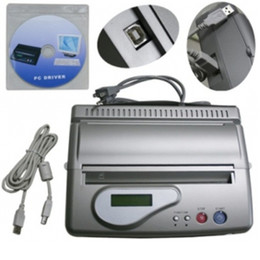 Wholesale New Professional USB Thermal Tattoo Stencil Copier LCD Display