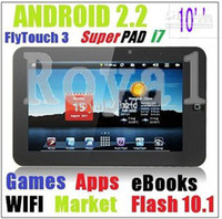 Wholesale Epad X220 Flytouch3 Tablet PC Android2 MB GB option GB GB Flash HDMI