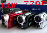 Wholesale 2PCS HD A70 MP quot x Digital Zoom HD Video Camcorder DV Camera