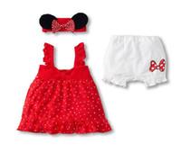 Cheap wholesale new 2012 girls skirt minnie mouse handband skirt Girl Clothing Baby skirt set baby suits